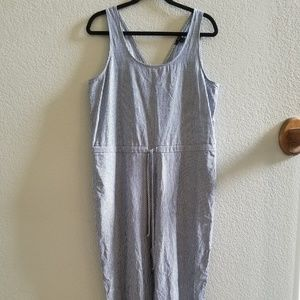 Drew Anthropologie Striped Jumpsuit